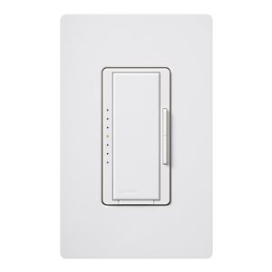 Lutron Maestro 1 1/4-Amp White Digital Dimmer