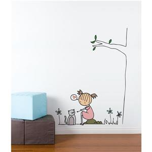 ADzif Piccolo Cat Wall Decal