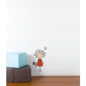 ADzif Piccolo Mop Top Wall Decal