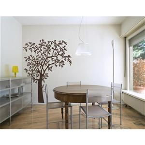 ADzif O'Nature Wall Decal - 4.8' x 6.3' - Brown