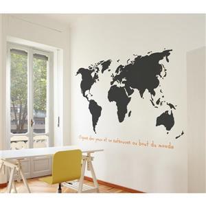 ADzif Monde Wall Decal - 5.6' x 3.6'