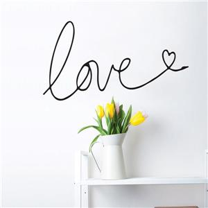 ADzif Text Wall Decal - Love - 1.2' x 2'