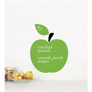 ADzif Green Apple Chalkboard Wall Decal - 1.1' x 1.3'