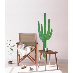 ADzif King Cactus Wall Decal - 1.6' x 5'