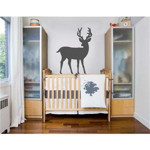 ADzif Deer Wall Decal - 2.8' x 3.8'