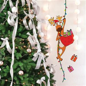 ADzif Christmas Wall Decal - I'm Coming  - 1.3' x 3.5'