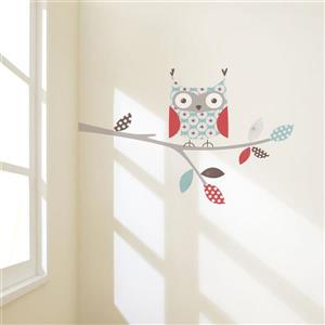 ADzif Little Owl Wall Decal - 4.1' x 2.3'
