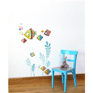ADzif The Bubble Family Wall Decal for Kids - 2.1' x 2'