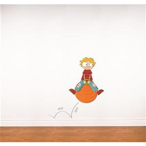 ADzif Hop Hop 3.8- in x 3.5- in Wall Decal for Kids