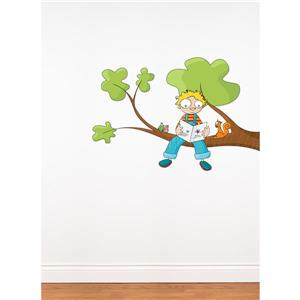 ADzif Ludo Tells a Story Wall Decal for Kids - 2.5' x 4.1'