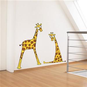ADzif Giraffe Baby Boys 3.1- in x 3.9- in Wall Decal for Kids