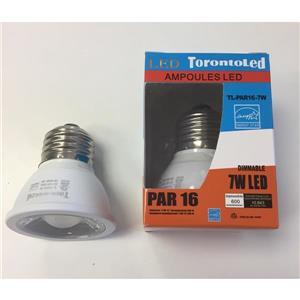 TorontoLed Bulb - PAR16 - 7 W - 3000 K -10-pack