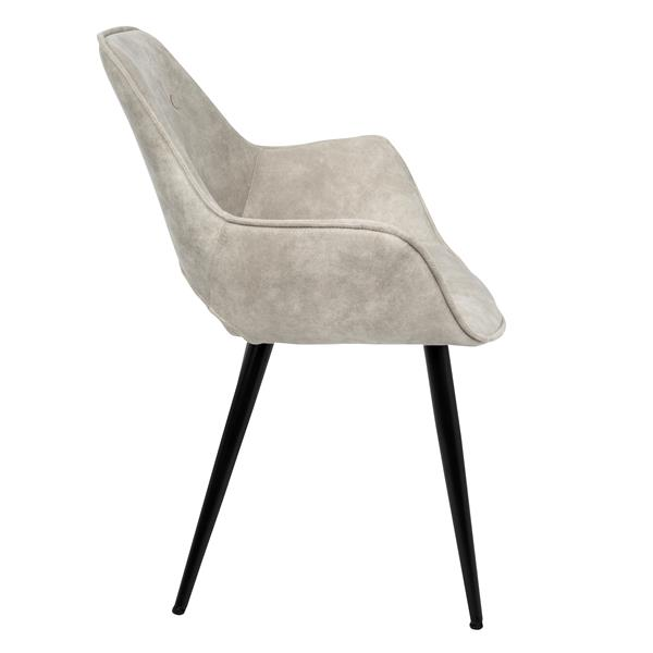 Amazing Lumisource Mustang Beige Mid Century Modern Accent Chair Uwap Interior Chair Design Uwaporg