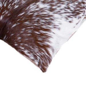Natural by Lifestyle Brands 18-in x 18-in Kobe Cowhide Pillow (2 Pack)
