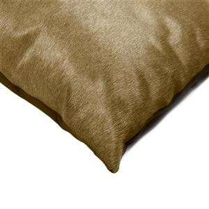 Natural by Lifestyle Brands 18-in Taupe Kobe Cowhide Pillow (2 Pack)