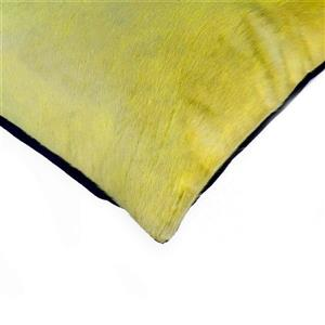 Natural by Lifestyle Brands 18-in Yellow Torino Cowhide Pillow (2 Pack)