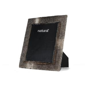 Natural by Lifestyle Brands 8 x 10 Grey Durango Cowhide Picture Frame