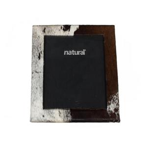 Natural by Lifestyle Brands 8 x 10 Brown & White Durango Cowhide Picture Frame