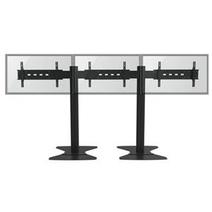 TygerClaw 30-in to 60-in 3 Flat Panel TV Stand
