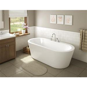 A&E Bath & Shower Una-NF Freestanding Bathtub - 71-in - White