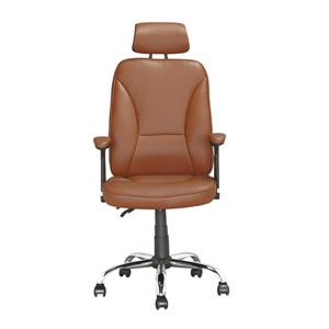 CorLiving 22.00-In x 19.00-In Light Brown Reclining Executive Office Chair