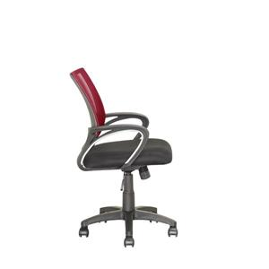 CorLiving 18.50-In x 18.25-In Maroon Mesh Back Office Chair