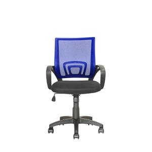 CorLiving 18.50-In x 18.25-In Navy Blue Mesh Back Office Chair