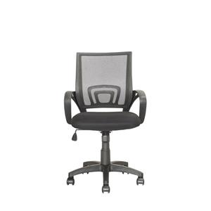 CoreLiving 22.00-in x 18.25-in Dark Grey Mesh Back Office Chair