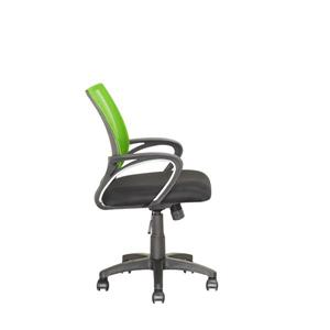 CorLiving 18.50-in x 18.25-in Lime Green Mesh Back Office Chair