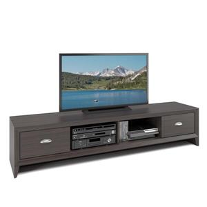 CorLiving Lakewood Modern Wenge Extra Wide TV Stand