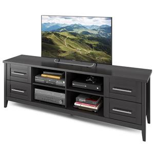 CorLiving Jackson Black Extra Wide TV Stand