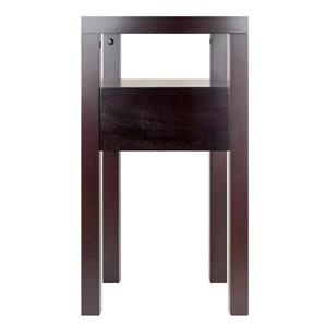 Winsome Wood Copenhagen 59.08-in x 40-in Espresso Wood Table