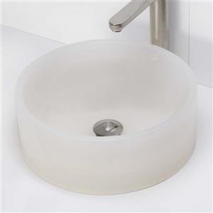 Decolav Lana Above-Counter Round Mist Resin Sink