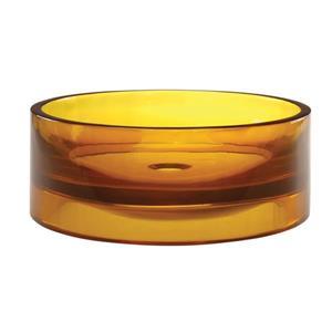 Decolav Lana Above-Counter Round Honeycomb Resin Sink