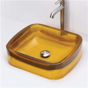 Decolav Lacee Above-Counter Rectangular Honeycomb Sink