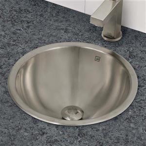 Decolav Teanna Sink - Round - Brushed