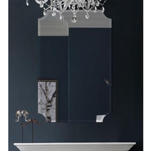 Notre Dame Design Sadie Mirror - 24-in x 36-in- Glass - Clear