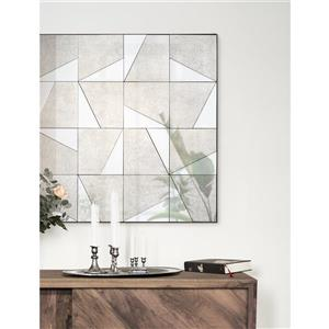 Notre Dame Design Jax Mirror - 40-in x 40-in- Metal - Bronze