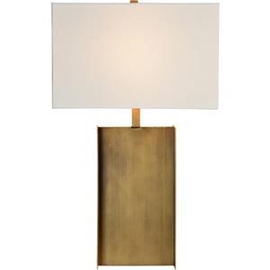 Notre Dame Design Acker Lamp - 26-in - Metal - White