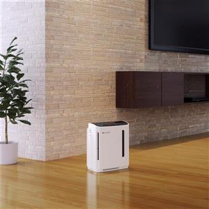 Brondell O2+ Revive True HEPA White 12.5-in Air Purifier And Humidifier