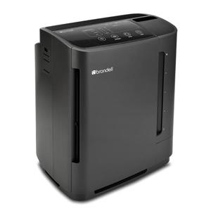 Brondell O2+ Revive True HEPA Black 12.5-in Air Purifier And Humidifier