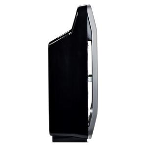 Brondell O2+ Halo True HEPA Three Stage Black 13.68-in  Air Purifier