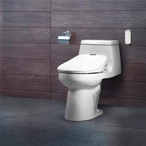 Brondell Swash 1400 Bidet Seat 15.2-in x 20.43-in White