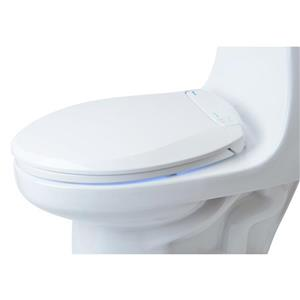 Brondell LumaWarm Heated Bidet Seat 14.3-in x 18.5-in White