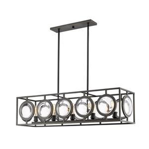 Z-Lite Port 13.5-In Olde Bronze  5-Light Pendant Light