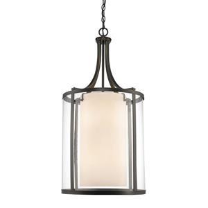 Z-Lite Willow 16-In Olde Bronze 8-Light Pendant Light