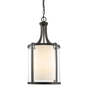Z-Lite Willow 12-In Olde Bronze 4-Light Pendant Light