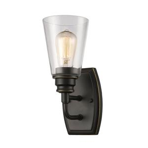 Z-Lite Annora 11.38-In x 4.75-In x 6-In Olde Bronze Wall Sconce