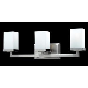 Z-Lite Tidal Brushed Nickel 3 Light Vanity Light