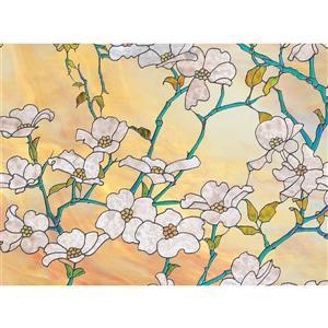 Dogwood Blossom Window Premium Window Film
